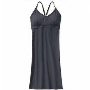 ATHLETA Shorebreak Dress, Asphalt Grey sz LARGE
